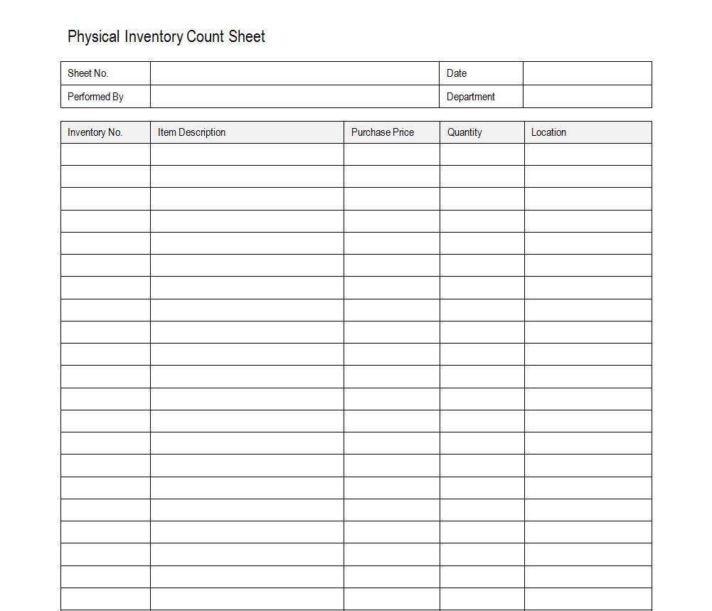 Inventory Control Spreadsheet Excel and Inventory Control Sheet XLS