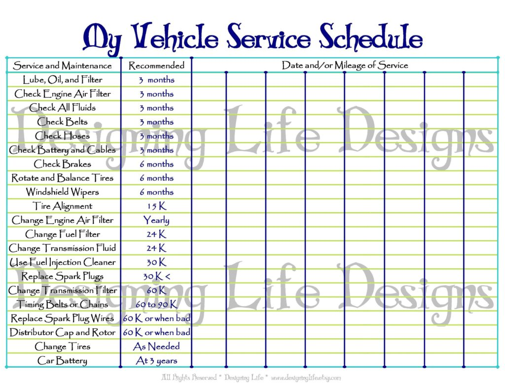 Preventive Maintenance Templates Free and Excel Preventive Maintenance Spreadsheet