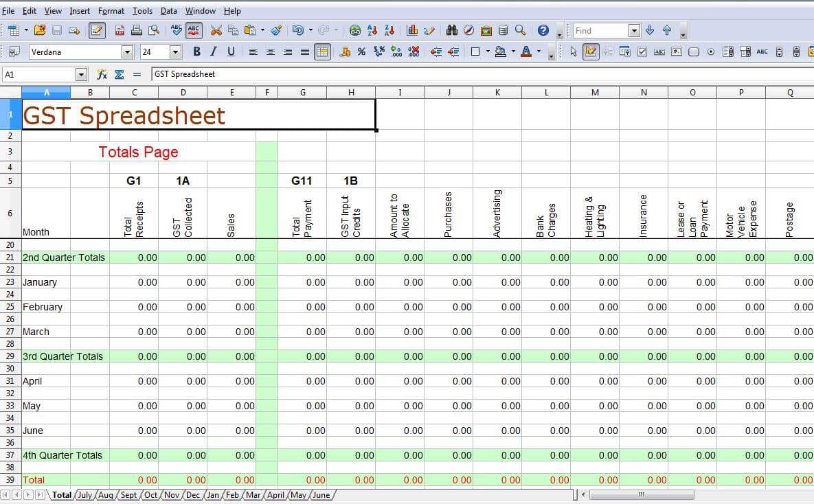 Free Simple Accounting Spreadsheet And Business Accounting Spreadsheets Excel