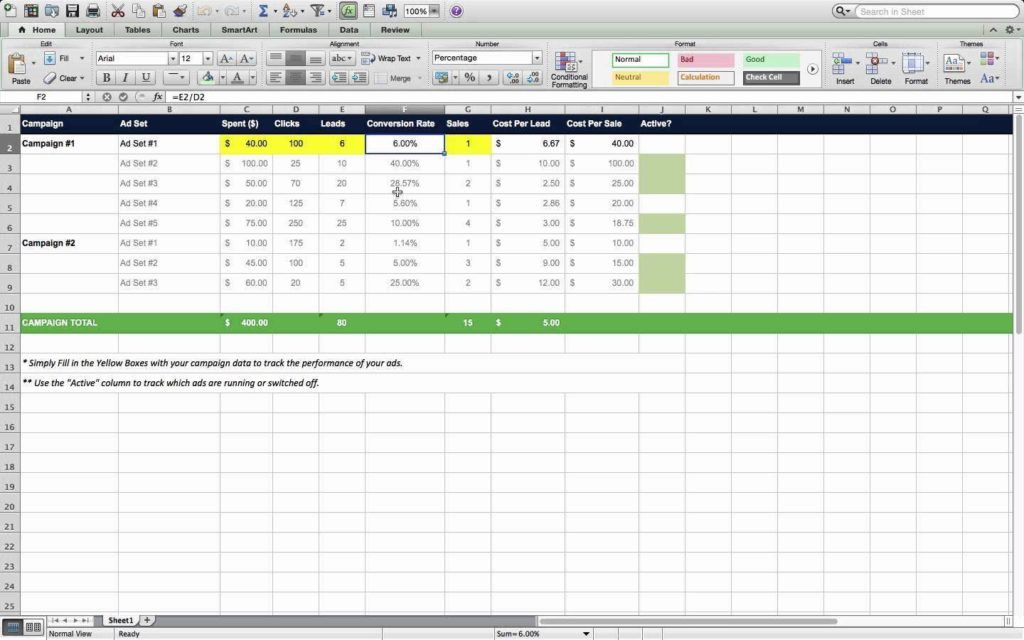 Marketing Spreadsheet Free and Marketing Action Plan Template Excel