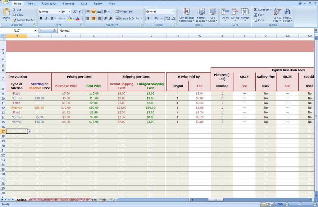 Profit and Loss Templates for Small Business with Profit and Loss Excel Sheet