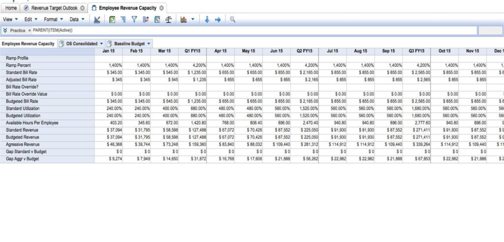 Resource Capacity Planning Tools Excel Template and Machine Capacity Planning Excel