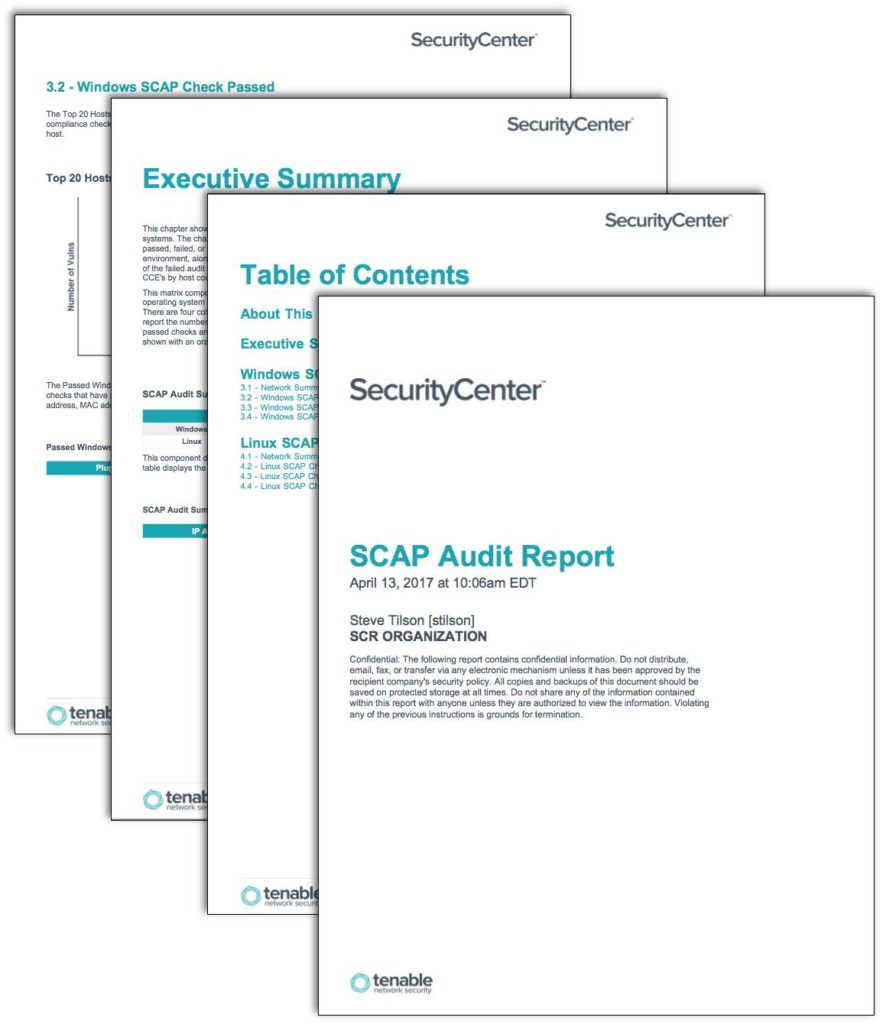 Example Of Security Audit Report And Sample Security Checklist