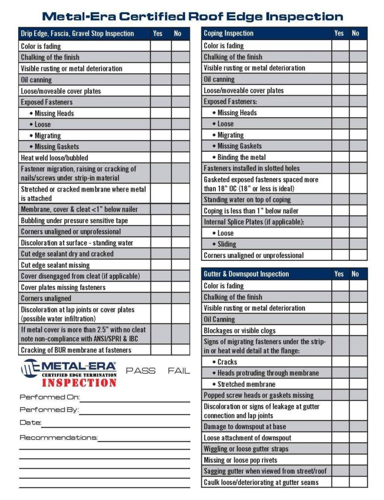 Roof Inspection Report For Insurance And Roof Inspection Report Checklist