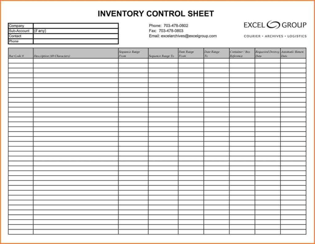 Sample Bar Inventory Sheet And Bar Liquor Inventory Sheets Free