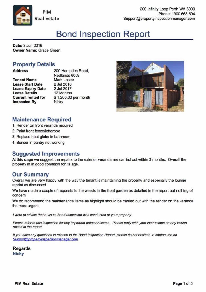 Sample Commercial Roof Inspection Report And Roof Inspection Report Sample