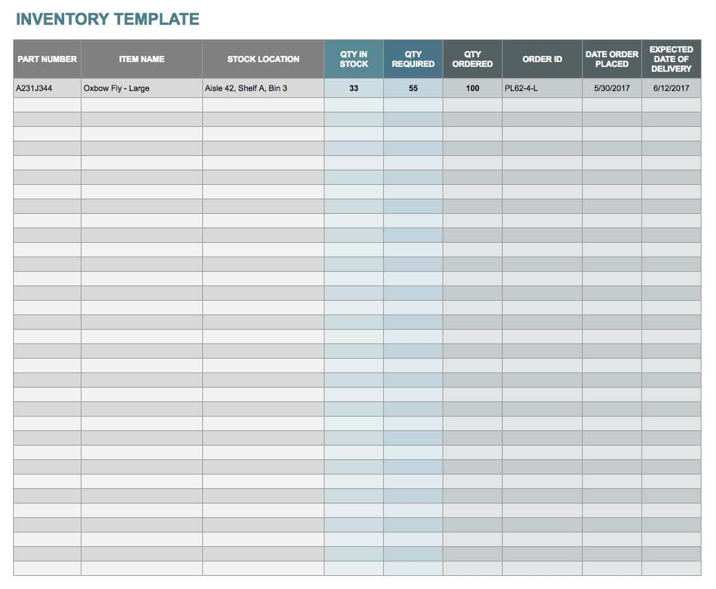 Sample Inventory Worksheet And Sample Retail Inventory Spreadsheet