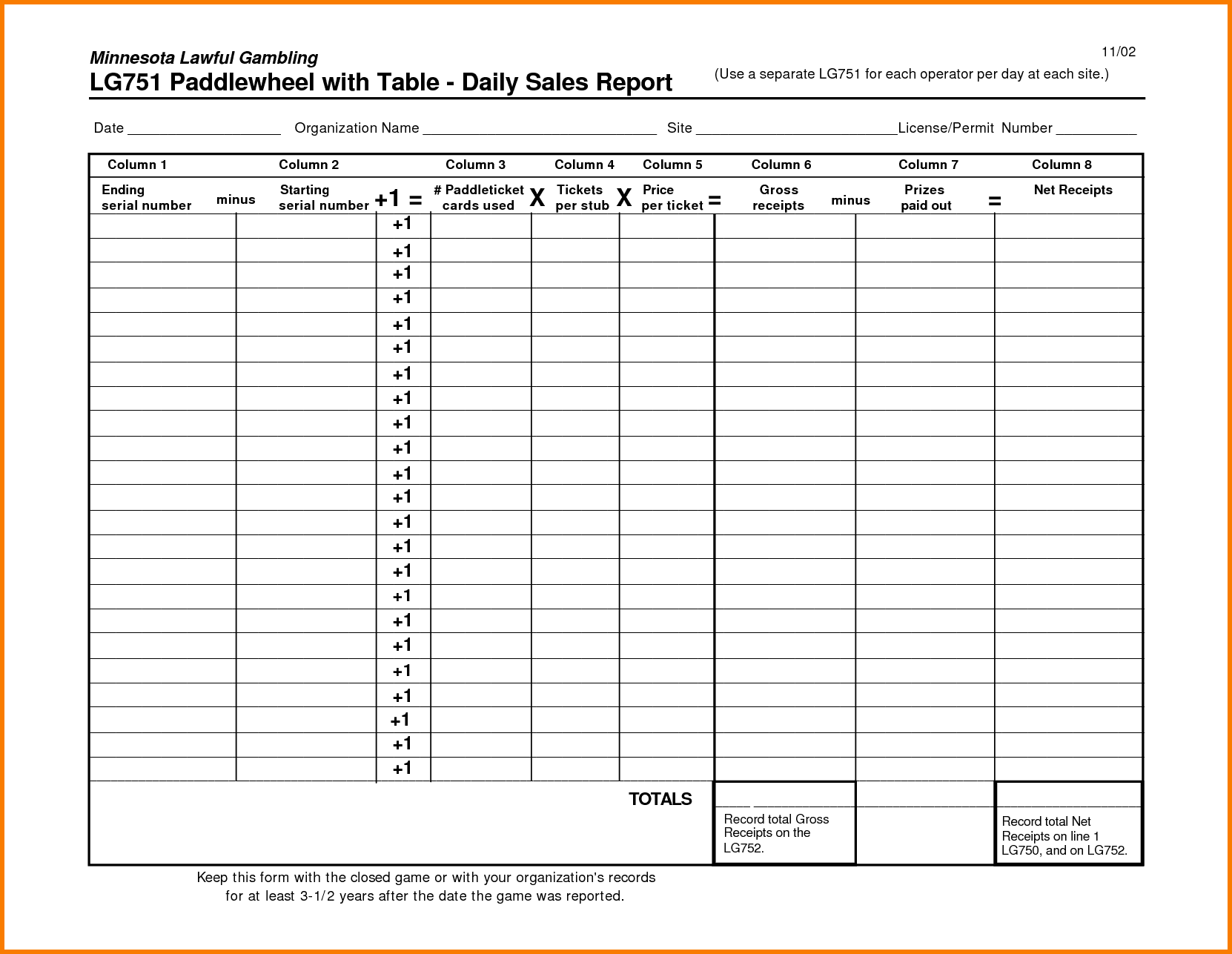 Daily Sales Report Template Free Download And Sales Report Template Free Download