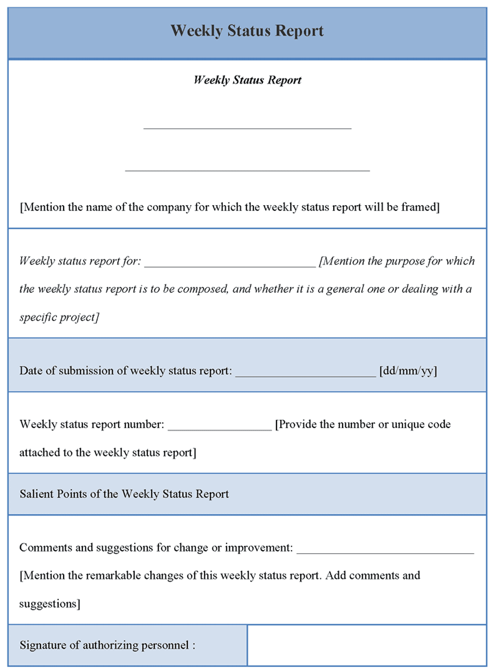 Construction Progress Report Template Word And Construction Progress Report Sample