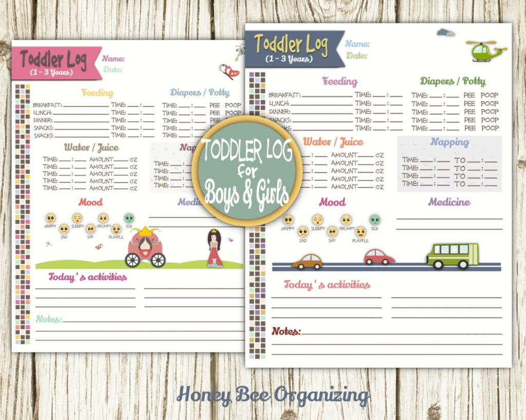 Printable Daycare Forms And Free Child Care Infant Daily Report