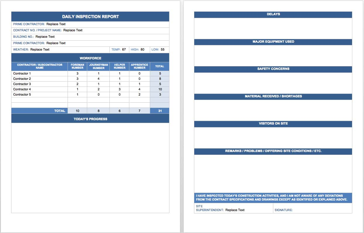 Sales Reports Templates And Sales Call Report Template Microsoft Word