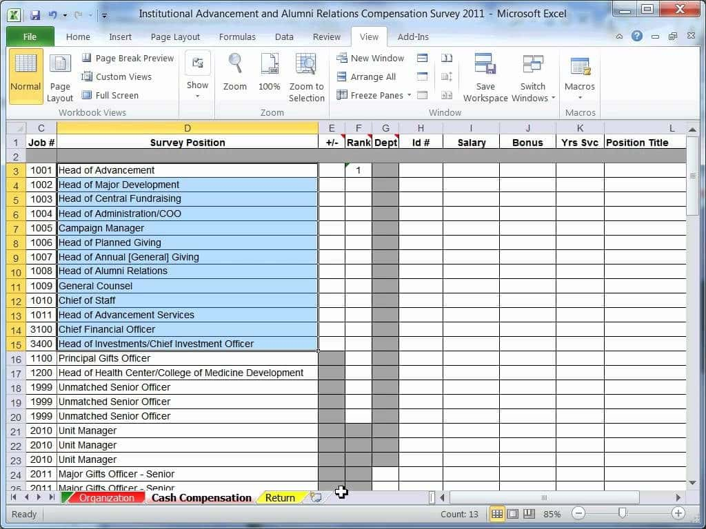 Example Of Excel Spreadsheet With Data And Example Of A Complex Excel Spreadsheet