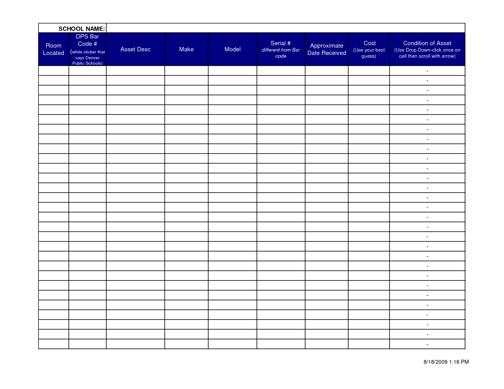Itemized Expense Report Template And Itemized Expense Template