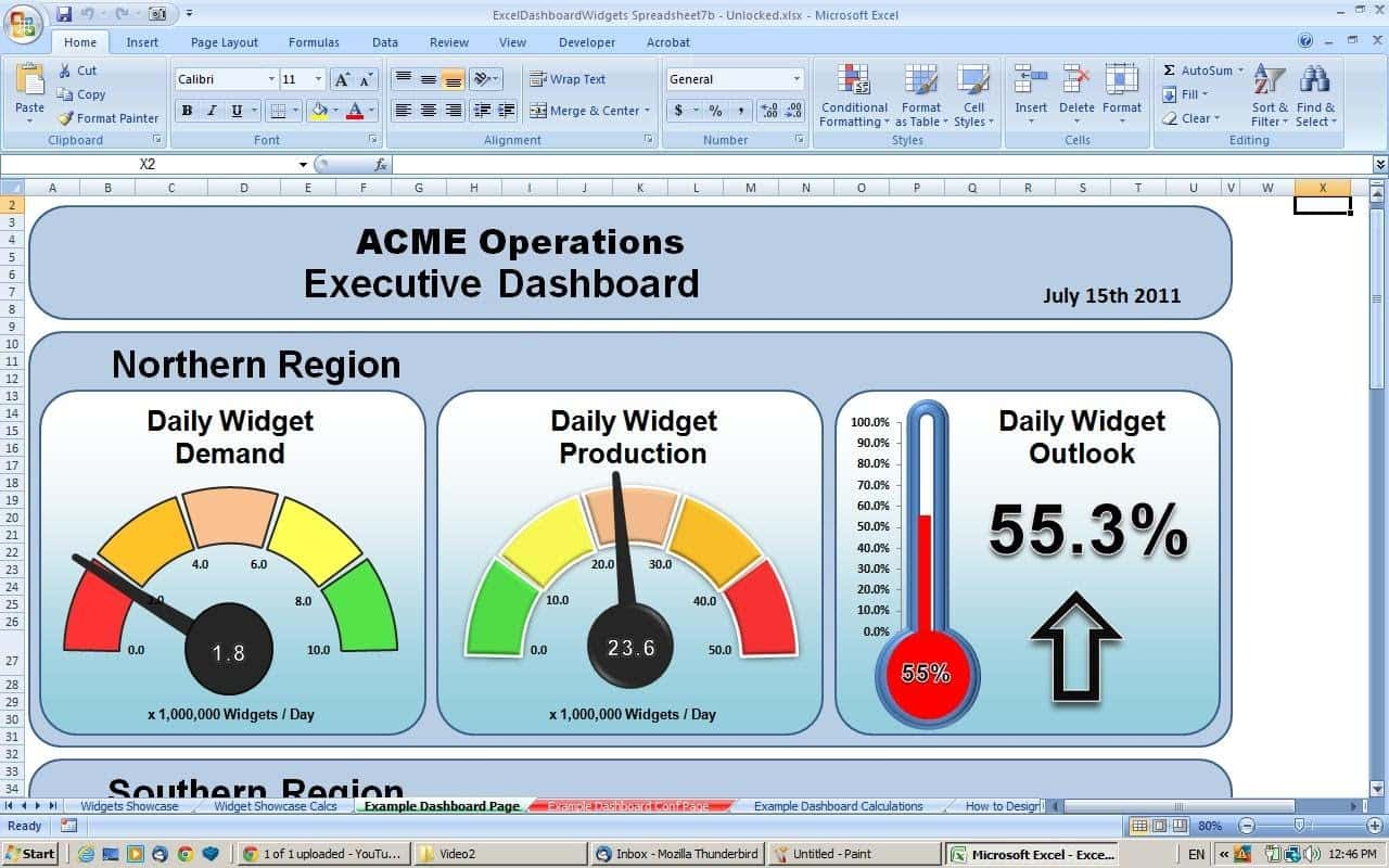 Excel Dashboards Template For Free Download And Project Dashboard Excel Template Free Download