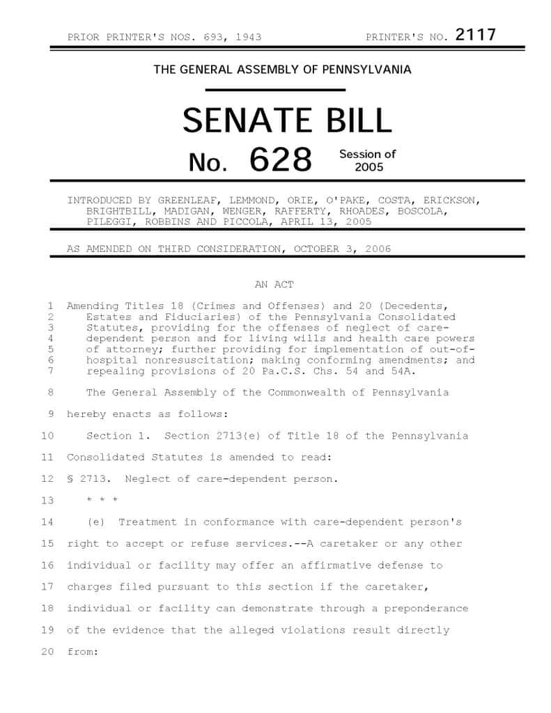 House Of Representatives Bill Template And Congress Bill Format