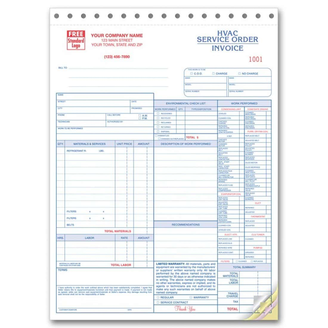 Invoice Work Hours Template And Work Invoice Template Excel
