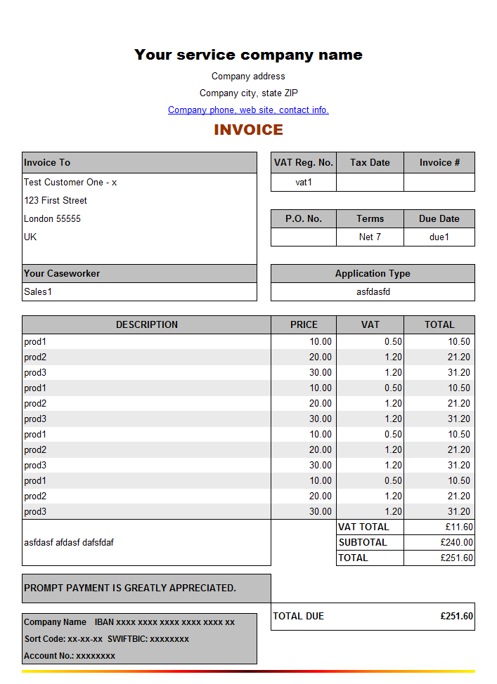 Sample Of Invoice For Service And Sample Service Tax Invoice Under Reverse Charge Mechanism