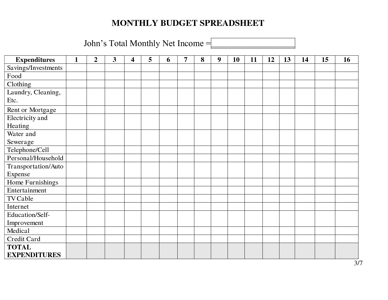 Expenses Worksheet Template And Financial Spreadsheet Templates For Numbers