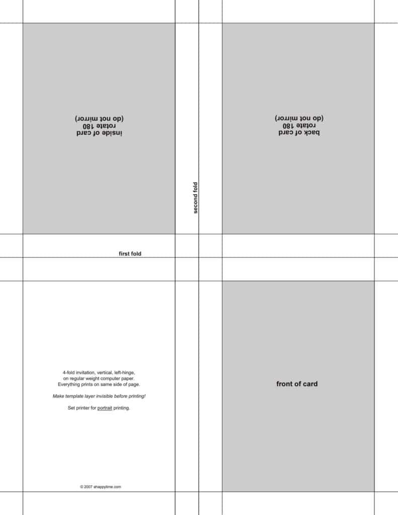 Label Printing Template 4 Per Sheet And 2 X 4 Label Template 8 Per Sheet