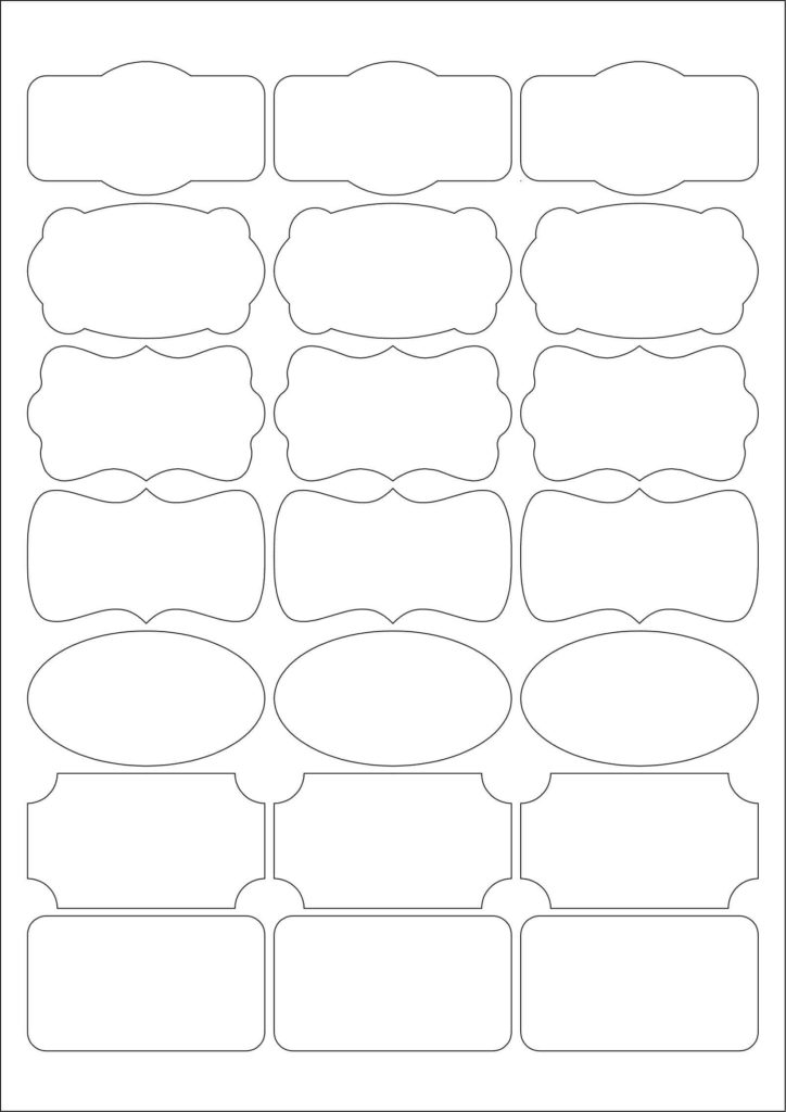 scentsy 52 labels per sheet template