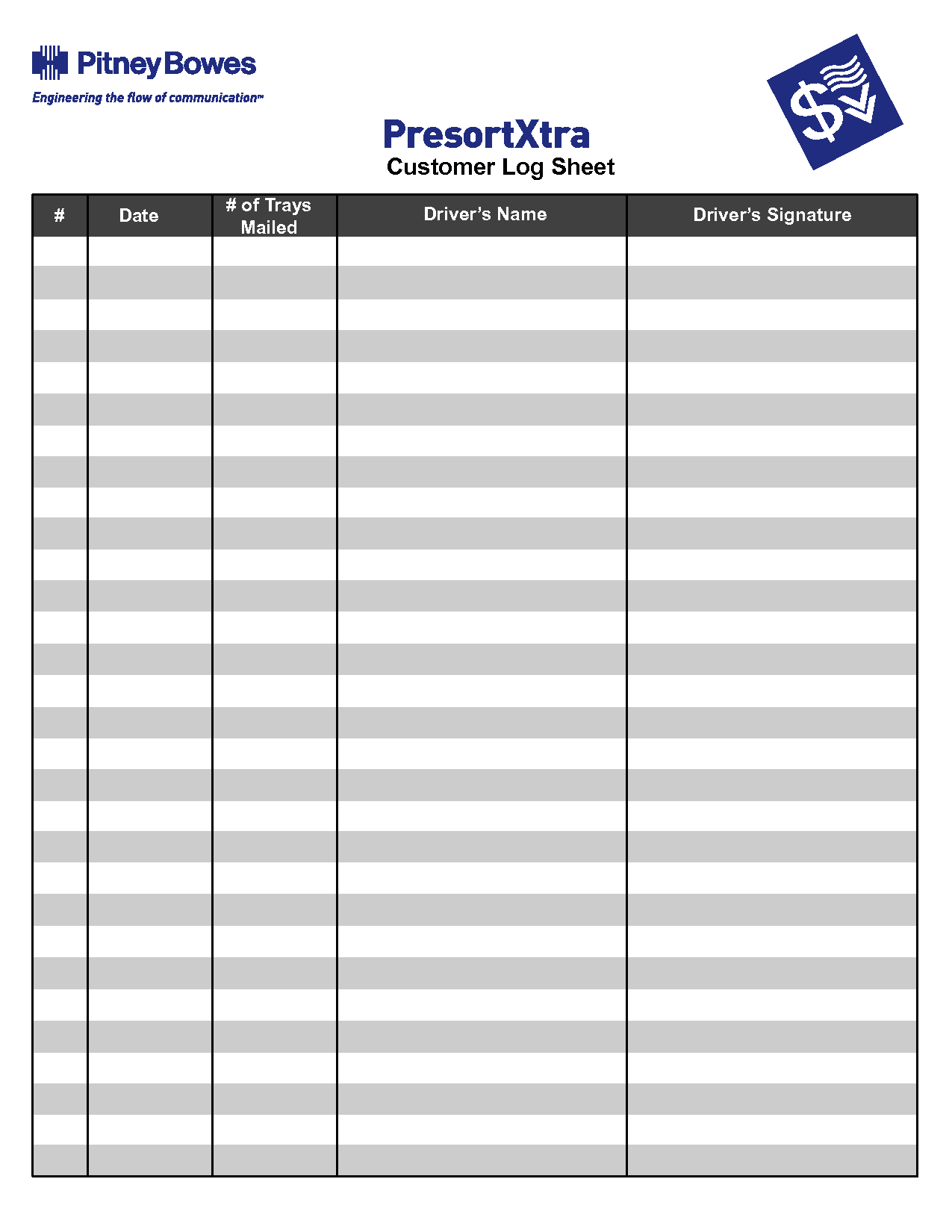 Driver Daily Log Sheet Template And Drivers Daily Log Printable