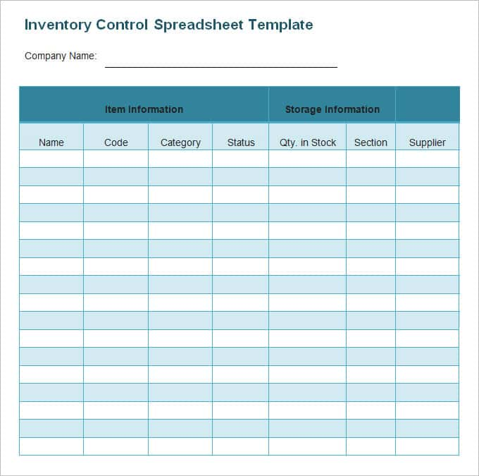 Free Excel Template For Inventory Management And Simple Inventory Template Excel