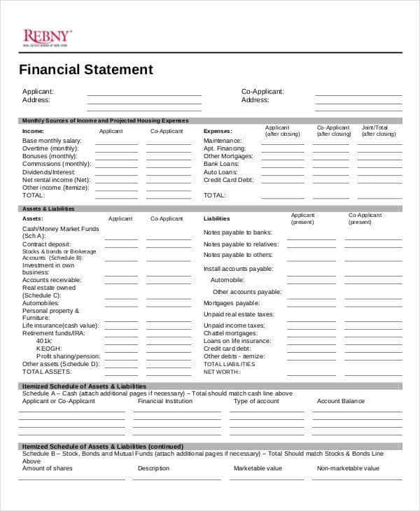Ifrs Financial Statements For Real Estate Companies And Real Estate Personal Statement Examples