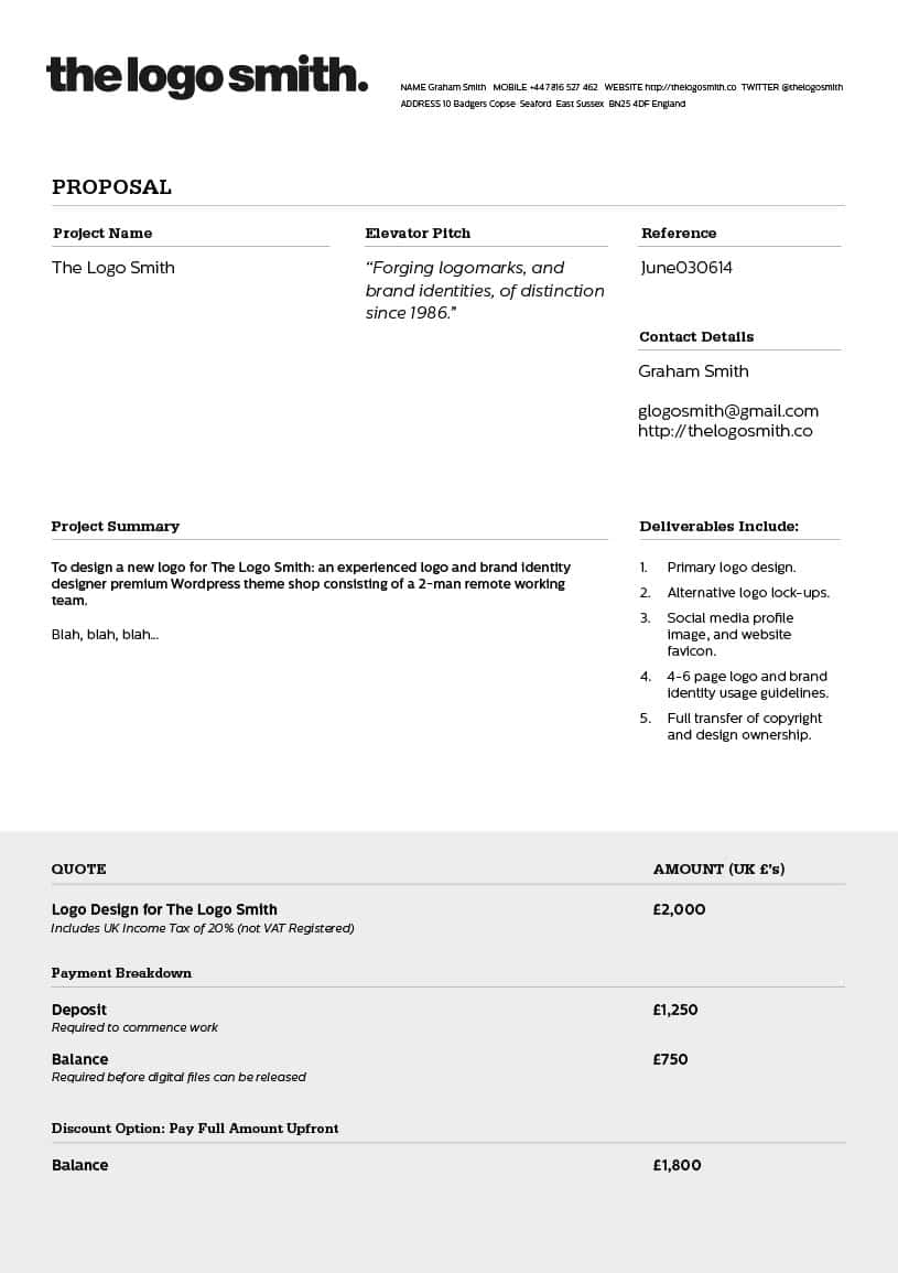 Invoice Template Design Free And Invoice Template For Web Design Services
