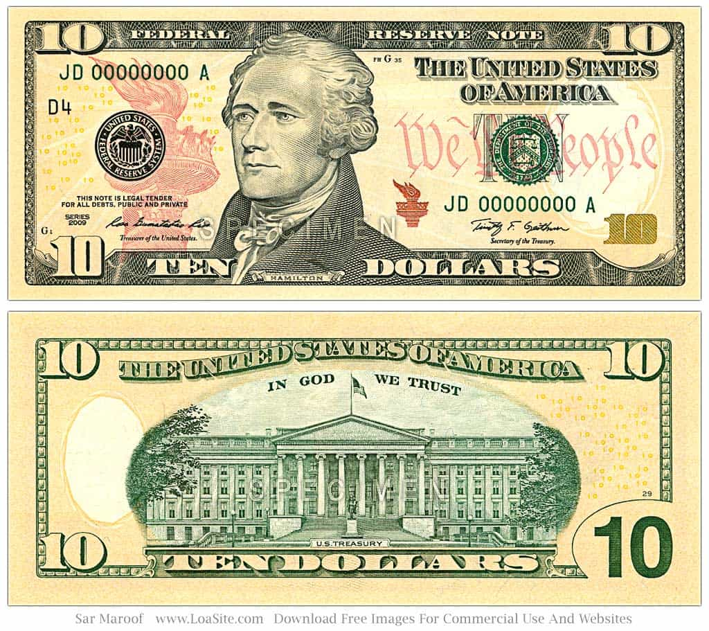 50 Dollar Bill Coupon Template And 100 Dollar Bill Template Download