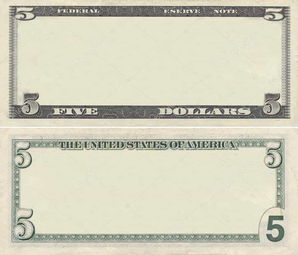Fake 50 Dollar Bill Template And Free Dollar Bill Template Download