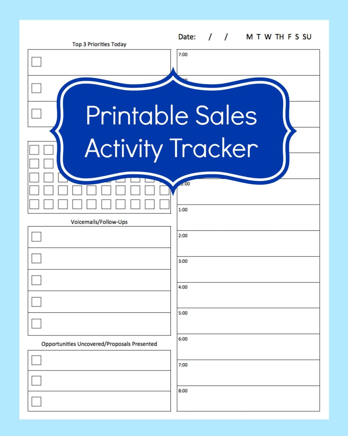 Sales Tracking Sheet Excel And Sales Activity Tracking Spreadsheet