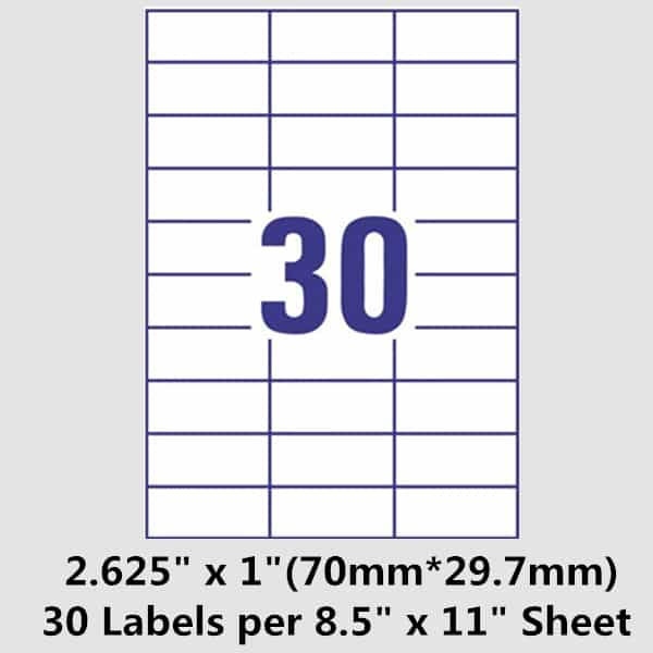 Avery 14 labels per sheet word template and free printable shipping label template