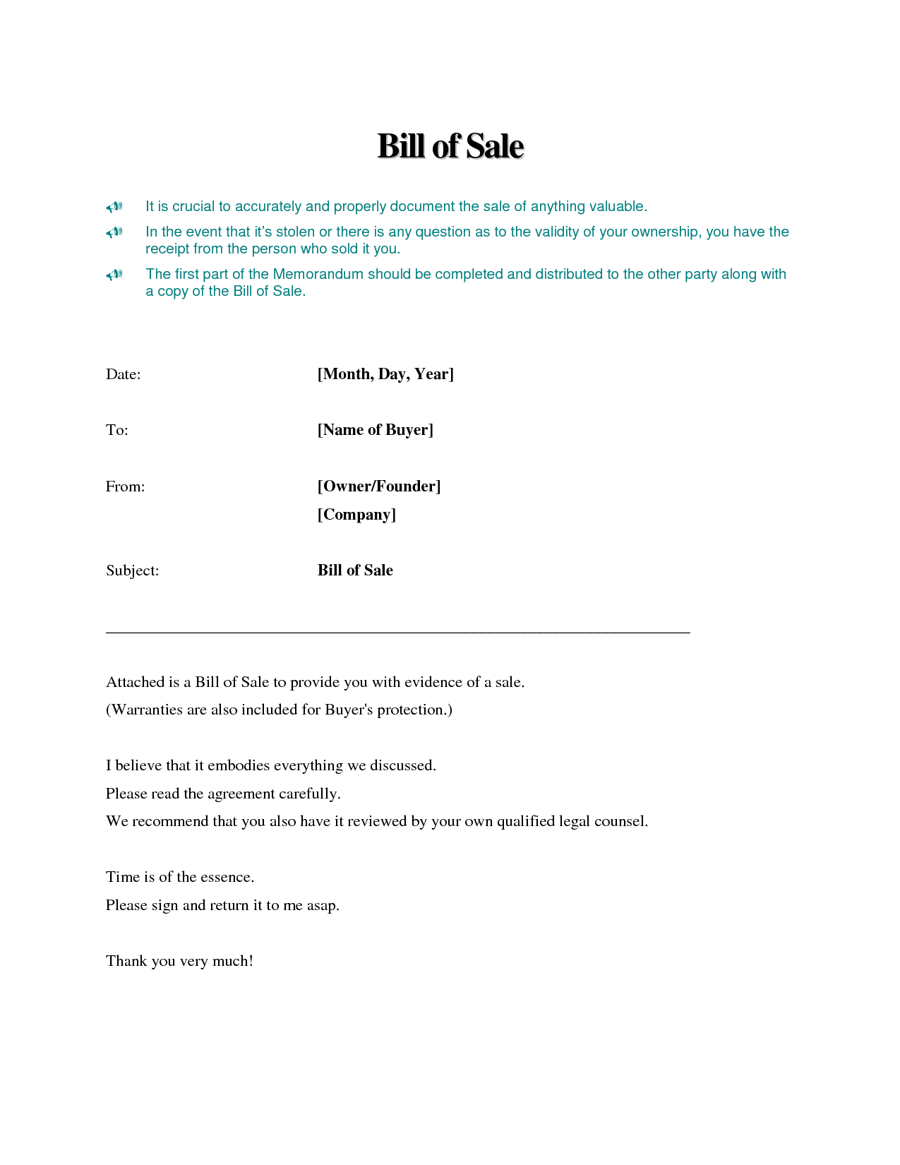 Printable bill of sale for an atv and atv bill of sale no title
