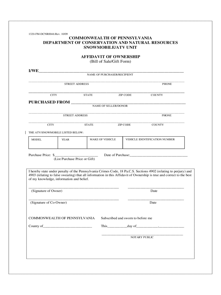 Printable bill of sale form for atv and atv bill of sale florida