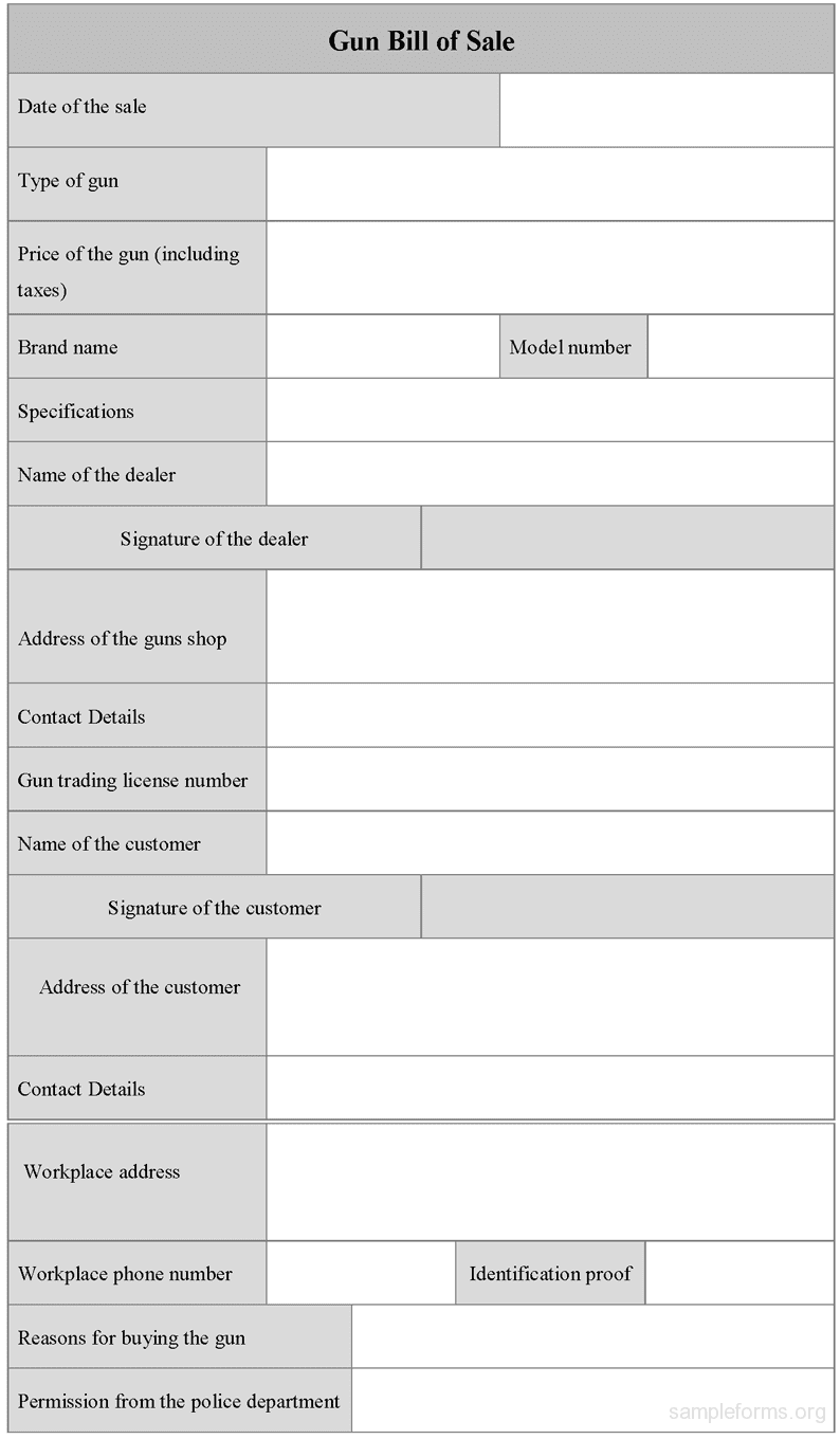 Vehicle bill of sale template fillable pdf and bill of sale document template