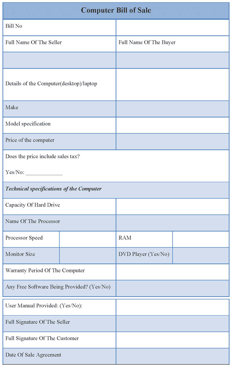 Bill Of Sale Template Ri Car And Vehicle Sale Form