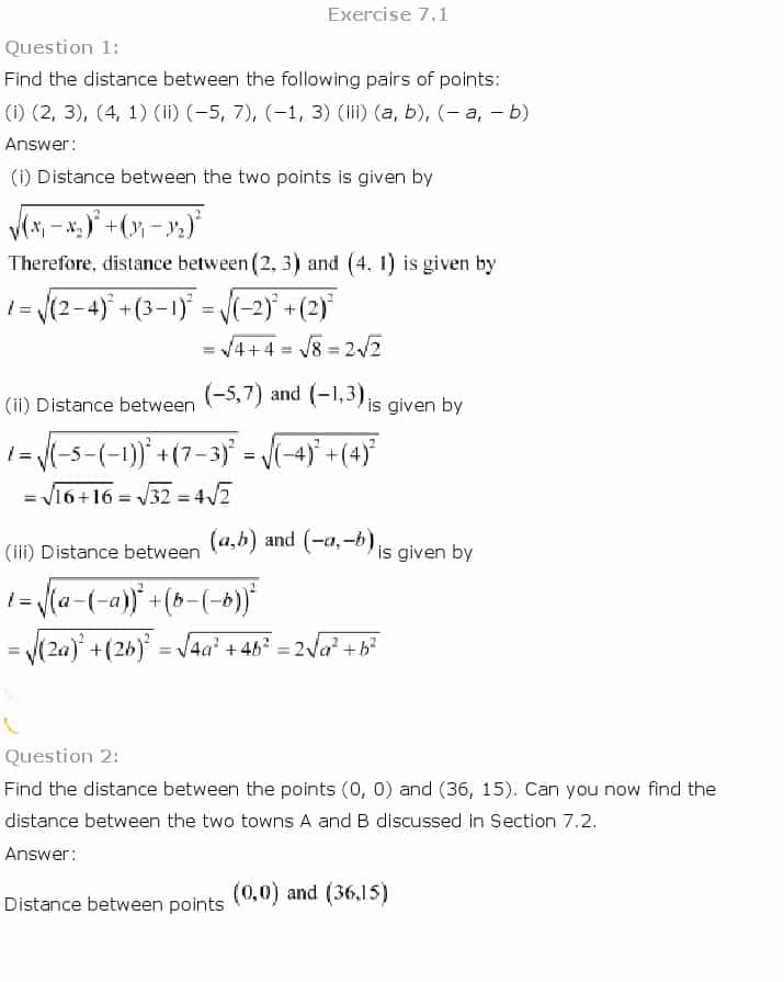 Grade 10 Analytic Geometry Worksheets Pdf And Analytical Geometry Grade 10 Formulas