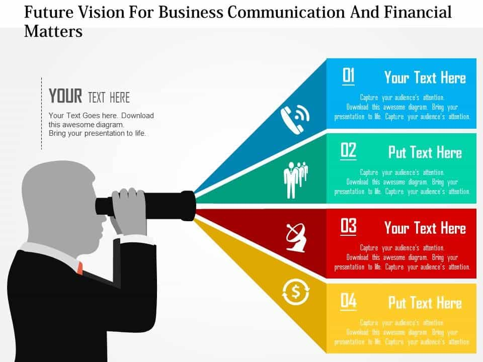 Financial Advisor Value Statement And Vision Statement For Financial Services