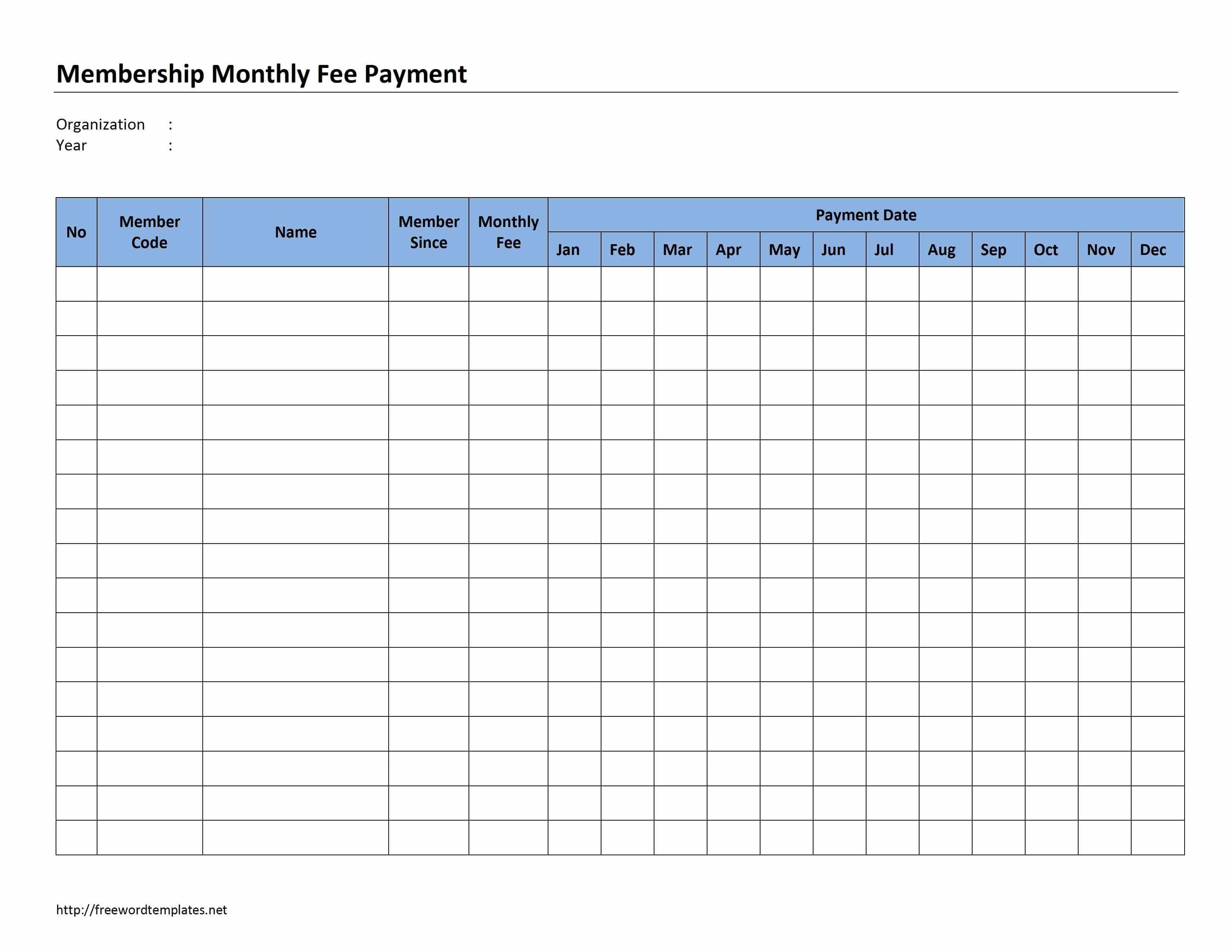 Payment Record Template Free And Small Business Accounting Spreadsheet
