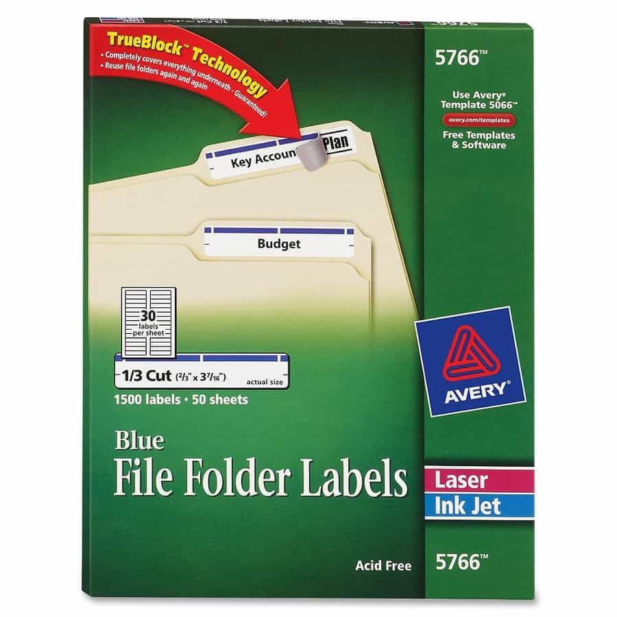 Template For File Folder Labels 30 Per Sheet And Avery File Folder Labels Template