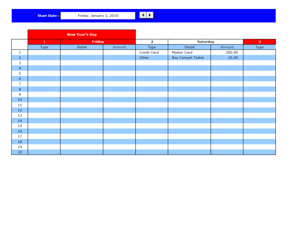 Excel Budget Template For Small Business And Excel Budget Template For Construction Project