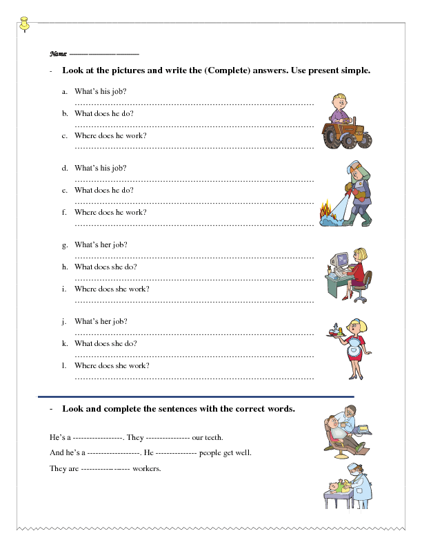 Job Interview Worksheet Pdf And Job Interview Esl Worksheet Pdf