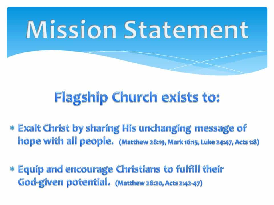 Free Mission Statement Template And Marketing Mission Statement Examples