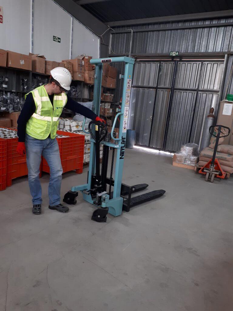 Manuel İstif Makineleri Periyodik Kontrol Çalışması