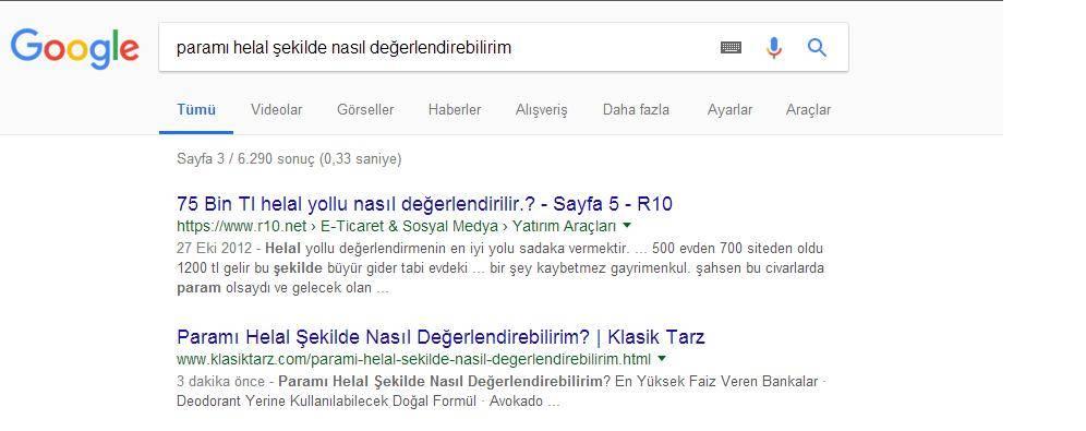 Seo Deneyi Google Sıralamadaki Yeri