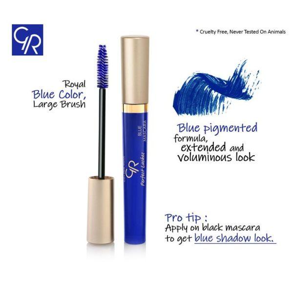 Modra maskara Perfect Lashes Blue Mascara 1