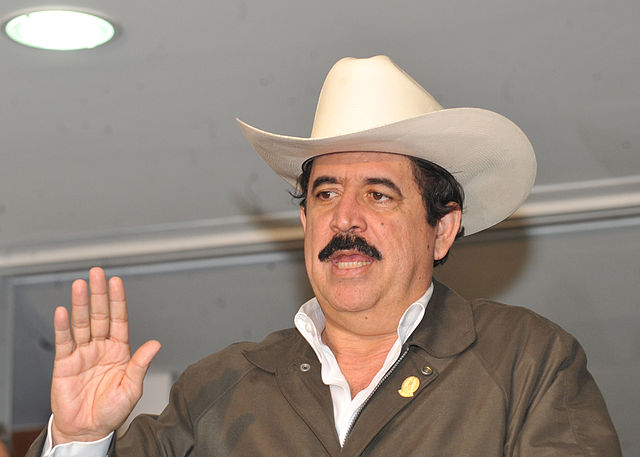 Manuel Zelaya (Source: Wikipedia)