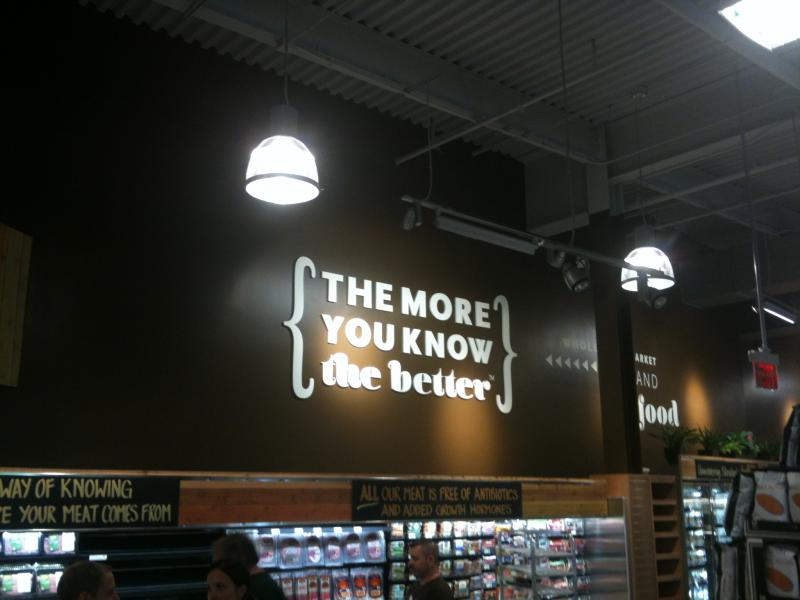 Whole Foods: The More You Know, the Better