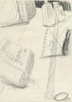 Lars Pryds: Opbrud # 1, 1987.