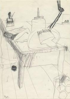 Lars Pryds: Opbrud # 4, 1987.